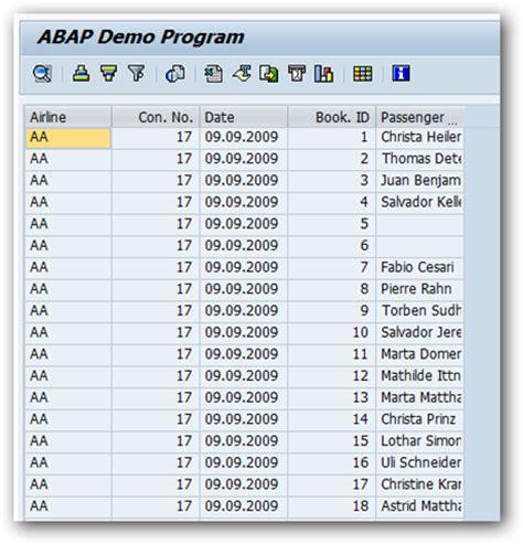alv tutorial in sap abap image gallery sap alv