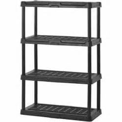 sandusky 36 quot w x 18 quot d x 56 quot h four shelf resin shelving
