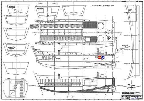 boat landing drawing lcvp plans aerofred download free model airplane plans