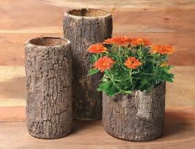 Log Flower Vase 7 Cool And Unusual Log Shaped Products Design Swan