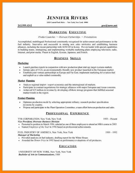 6 resume pattern for forklift resume