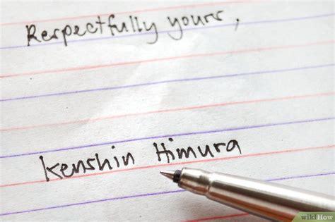 Und Verbleiben Mit Freundlichen Grüßen Brief einen brief signieren wikihow