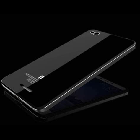 Aluminium Tempered Glass For Xiaomi Mi4s Blackblack 1 aluminium tempered glass for xiaomi redmi 3