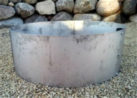 stainless steel cfire ring pit liner insert 30 quot id