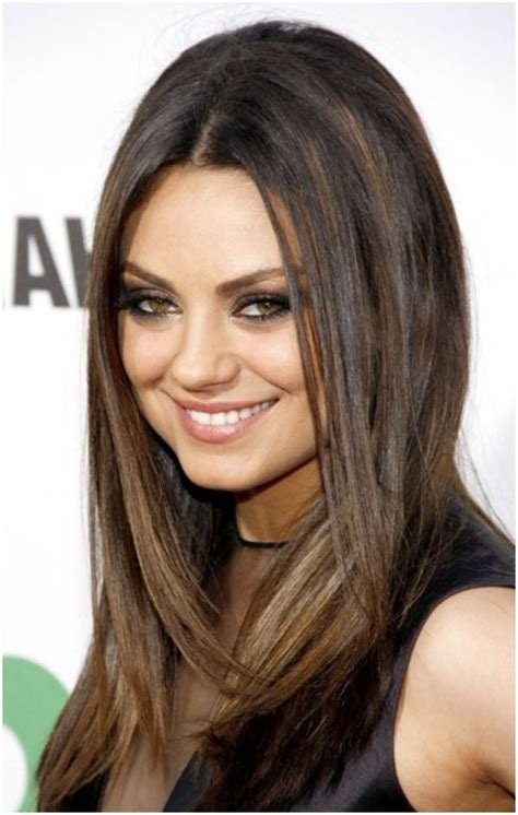 medium straight hairstyles hairstyle for women man