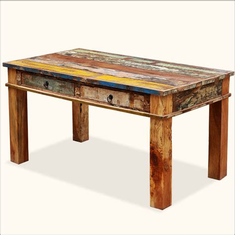 dining table with drawers distressed dining table perfect distressed dining table
