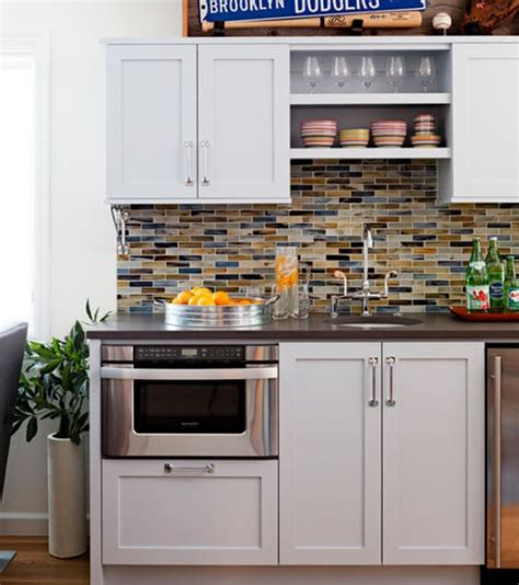 Kitchen Splash Guard Ideas small but charming and beautifully organized kitchenettes