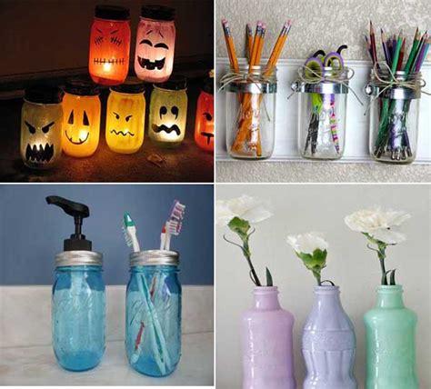 31 propuestas para decorar con botellas y tarros de search 35 ideas creativas para reciclar y decorar con tarros de
