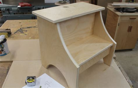 Build A Simple Stool how to build a simple step stool design plans jon