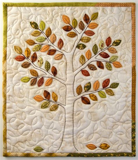 Quilted Tree by Wall Hangings On Quilt Patterns Quilts And