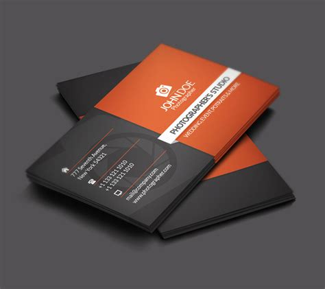 free psd photography business card templates 15 fantastic photoshop free psd files for designers psd