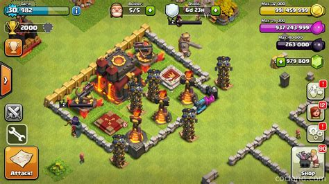 download game coc mod unlimited gems apk image gallery coc clash