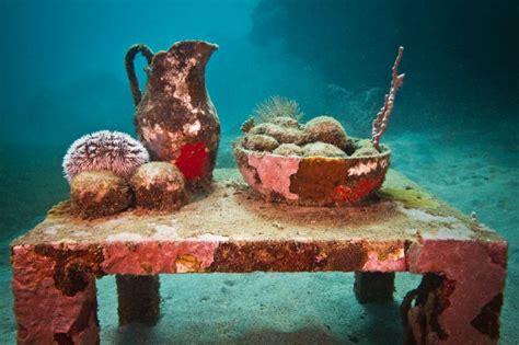 glass bottom boat grenada grenada underwater sculpture park a modern wonder