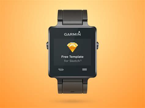 Smartwatch Vivo garmin vivoactive smartwatch sketch freebie free resource for sketch sketch app sources