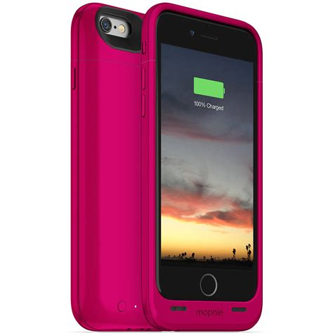Mophie Juice Pack Plus Iphone 6 6s mophie juice pack air for iphone 6 6s pink 3187 b h photo