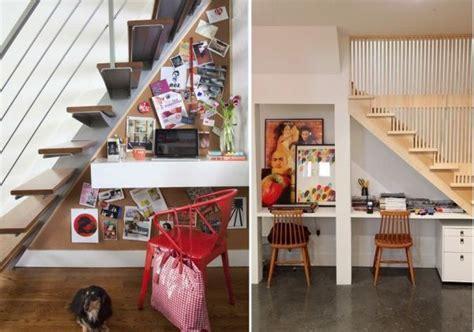 Small Home Office Stairs 60 Formas Originales De Aprovechar El Hueco De La Escalera