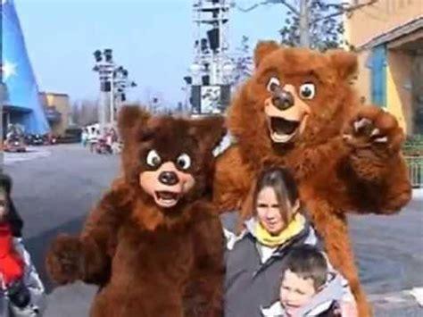 kenai and koda: brother bear characters at disneyland