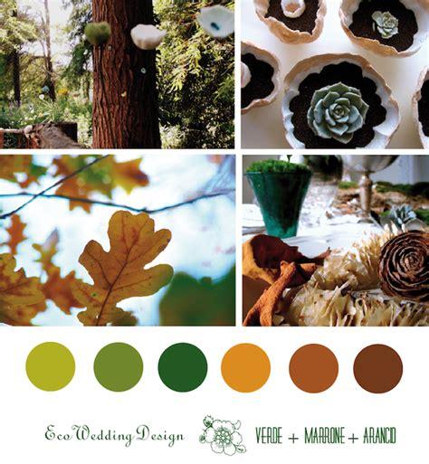 Palette Colori Marrone by Eco Wedding Design Palette Colori Il Matrimonio Eco