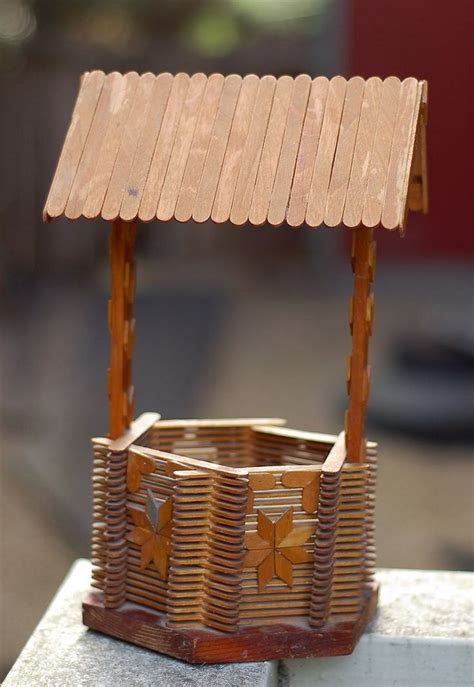 popsicle stick house popsicle stick crafts which so fun to make