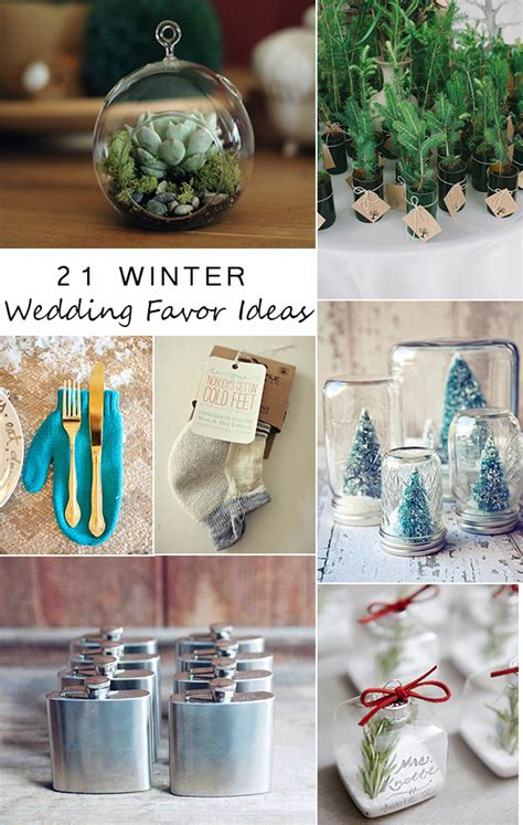 Great Wedding Gifts by 21 Wonderful Winter Wedding Gift And Favors Ideas