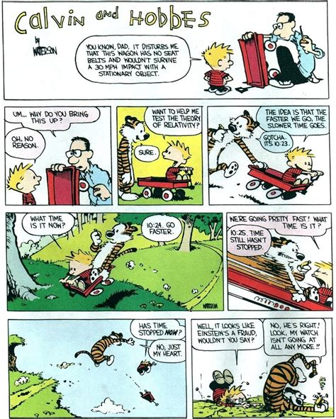 calvin and hobbes meet science and faith squinch