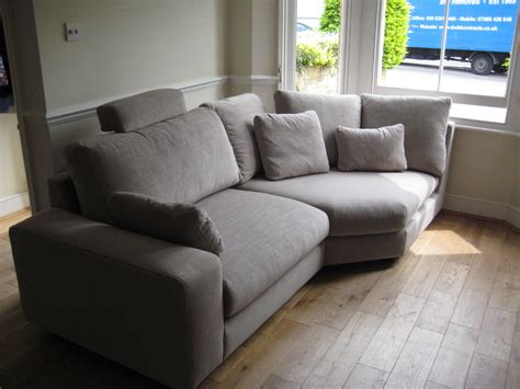 sofa for bay window a small room with a bay window takes a large sofa section