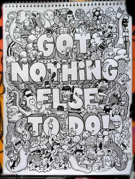 doodle freelance libretas de dibujo de un artista freelance