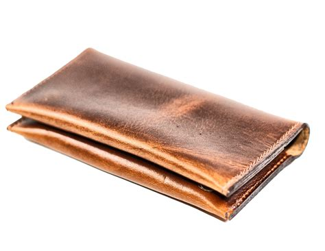 Aged Leather by Divina Denuevo Aged Leather Iphone And Wallet Pouch