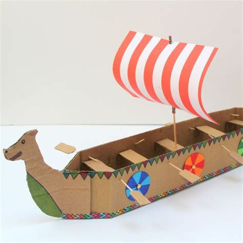 how to make a viking boat step by step how to make a viking longboat hands on activities