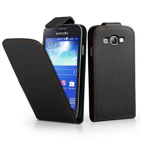 Casing Samsung Ace 3 flip leather cover for samsung galaxy ace 3 s7270