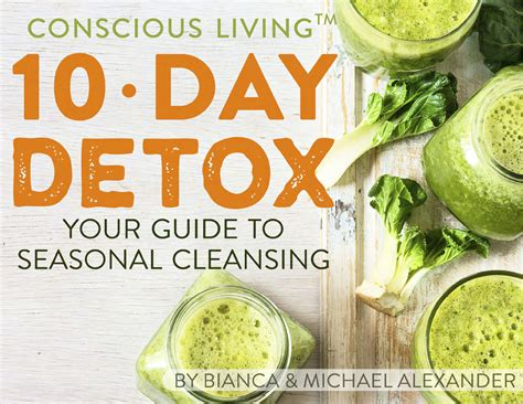 Detox Book Cover by Consciousliving 10 Day Detox Book Cover Conscious Living Tv