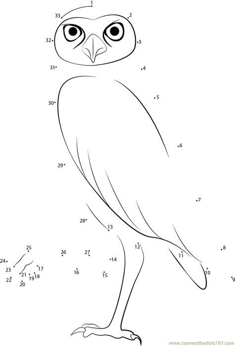 owl dot to dot printable walking owl dot to dot printable worksheet connect the dots
