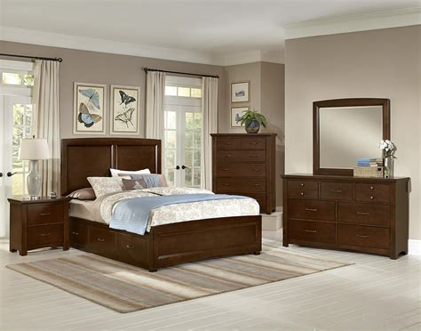 bedroom furniture vaughan vaughan bassett transitions panel bed with 2 side