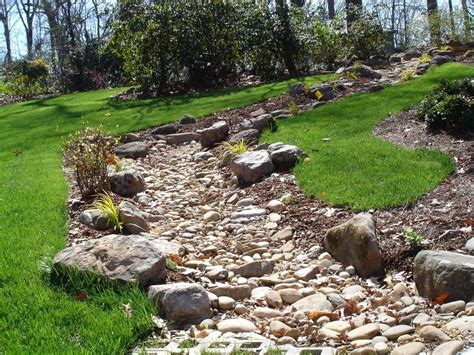 dry creek bed landscaping ideas dry creek bed landscaping ideas home design ideas