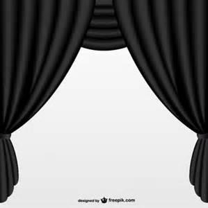 rideau noir vecteurs et photos gratuites