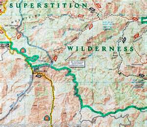 trail map of salt river tonto national forest