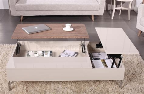 beige white coffee table charm coffee table in beige acacia white by beverly