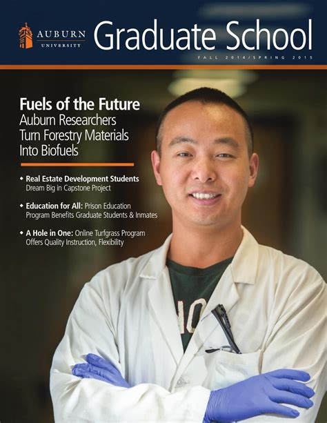 Auburn Mba Tuition by Auburn Graduate School Magazine 2014 15 By