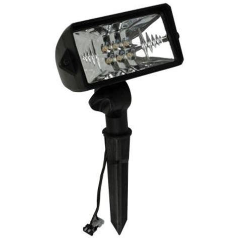 malibu landscape lighting 8401 malibu low voltage led 75 watt equivalent outdoor black floodlight