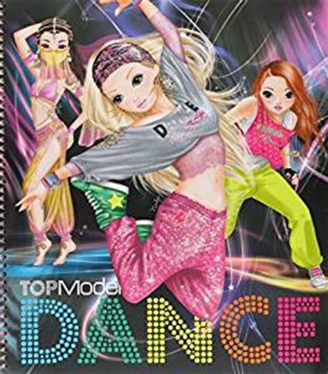 album de coloriage topmodel dance special: amazon.fr: jeux