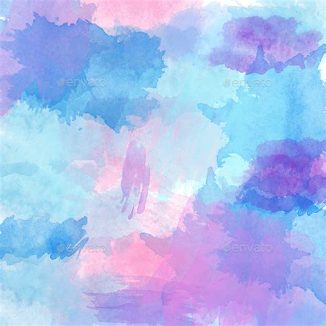 Obre Light Pattren 31 watercolor backgrounds by kristyhatswell graphicriver