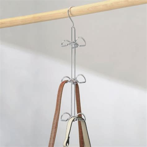 Wardrobe Pole Holders by Hanging Purse Handbag Bags Holder Storage Closet Rod