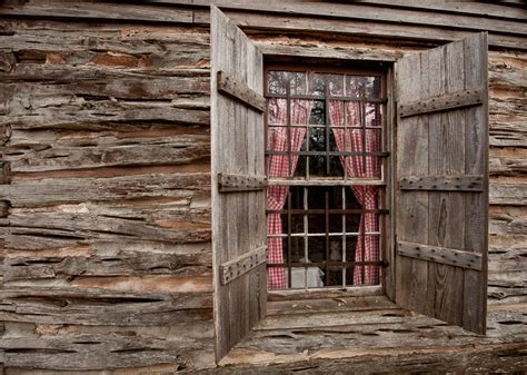 Log Cabin Windows by Swedish Log Cabin Window Dave Wilson Photography