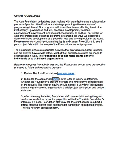 Nsf Grant Proposal Guide Chapter I Section E 28 Images