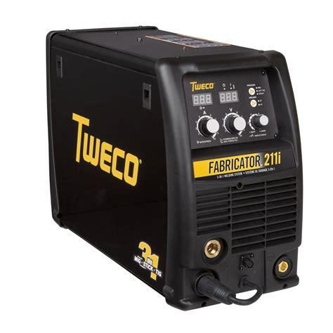 Fabricator Welder by Tweco Fabricator 211i Mig Tig Stick Welder Pkg With Cart For Sale W1004202 Welding