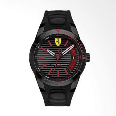 Jam Tangan Murah Pria Ferari Speed Rubber Merah Fullset jual jam tangan pria harga kualitas terjamin blibli