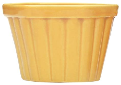 souvnear flower planter pot large yellow ceramic pots