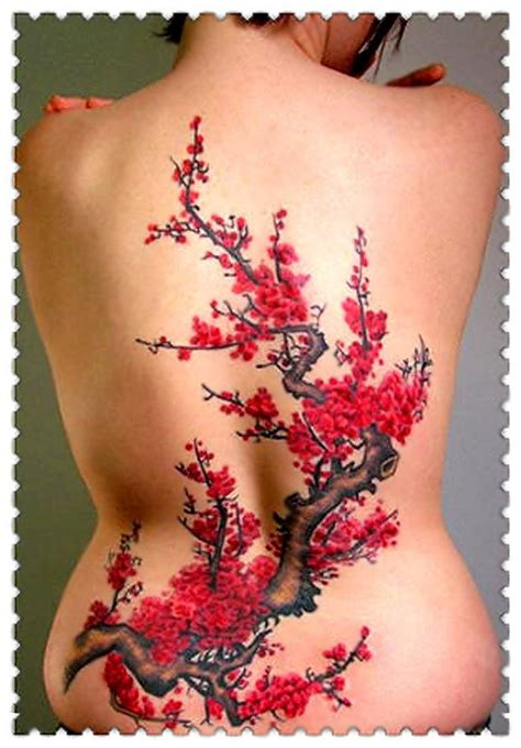 Tattoo Japanese Cherry Blossom Tree | 40 cute cherry blossom tattoo design ideas hative