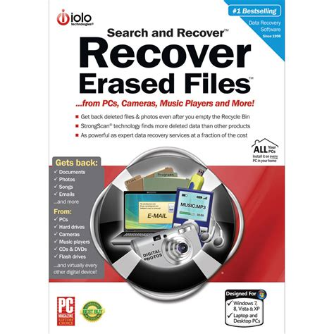 Search Software Iolo Technologies Search Recover Software Sr5esd0 B H