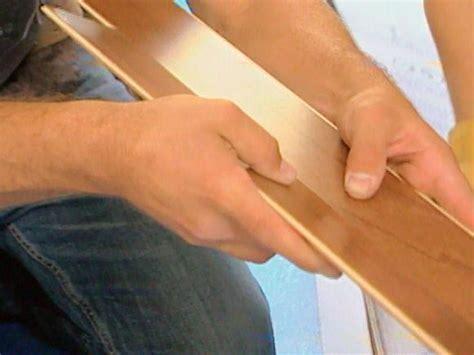 How To: Installing Floating Wooden Floors   HGTV